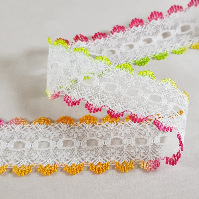Double Sided Knitting In Lace