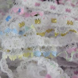 Insertion Lace Frills